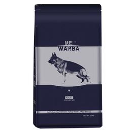 沃巴中大型犬成犬粮 天然粮5kg罗威纳德牧金毛边牧拉布拉多