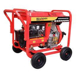 190A柴油发电电焊机便携式