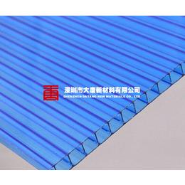 深圳地区大唐新材聚碳酸酯PC中空阳光板3-12MM雨棚车棚