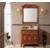 简欧式浴室柜组合 红橡木仿古 落地式雕花洗漱台缩略图4