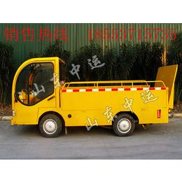电动四轮平板车厂家  座驾式电动平板搬运车