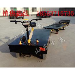 电动平板车搬运车 厂区货物运输电动平板拖车