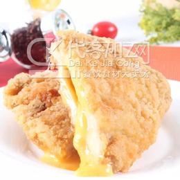 爆浆鸡排 220g一片台湾爆浆芝士鸡排肯德基炸鸡厂家直销