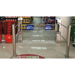 鑫翼通厂家直销六柱圆柱超市感应门