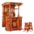 防腐木酒吧屋实木古典酒吧 吧台缩略图3