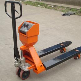 宏中有YCS-2吨手动液压叉车磅2吨电子地牛秤
