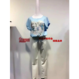 杭州时尚品牌玲珑格格品牌女装低价走份三标齐全