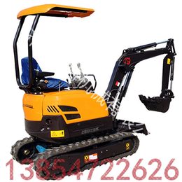 挖土机价格和图片 座驾式挖机的市场 市政路面小挖机