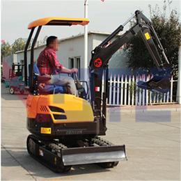 陕西小型座驾式挖掘机热售  品牌挖土机操作与使用