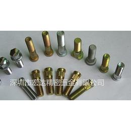 厂家定做 汽车轮毂螺丝栓 轮胎螺丝 滚花螺栓 高强度轮毂栓
