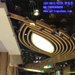 衢州木纹铝方通 木纹弧形铝方通厂家 木纹铝型材供应商