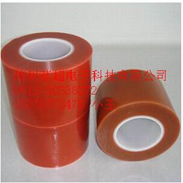 供应厂家直销红色PET保护膜 PET红色硅胶保护膜