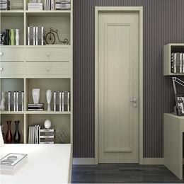 时尚简约欧式室内门 卧室实木复合免漆门 定制木门缩略图