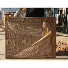 人造砂岩浮雕花草人物大型广场墙壁浮雕厂家专业