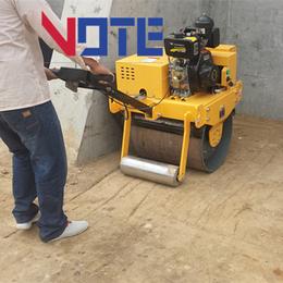 品牌汽油手扶压路机工程机械小型手扶式压路机