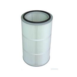覆膜聚酯空气滤筒|连云港滤筒|昆山裕久环保科技公司