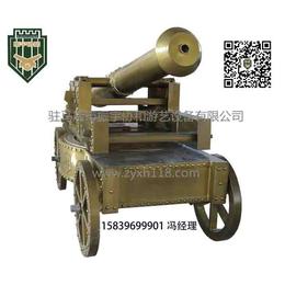 游乐设备厂家-大型四轮古炮-全国招商