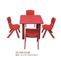江西幼儿彩色园多人桌椅正方形桌椅缩略图