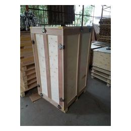 上海钢边钢带木箱生产厂家松江模具包装木箱