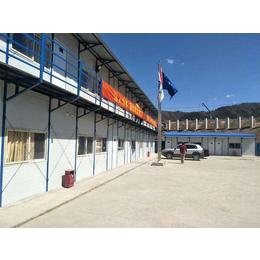 河北唐山现场施工安装搭建彩钢活动房