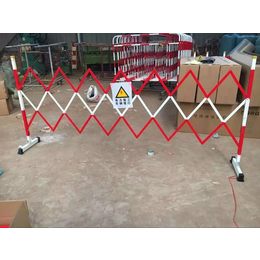 现货直销语音报警伸缩围栏 隔离可拆卸围栏定制各种围栏
