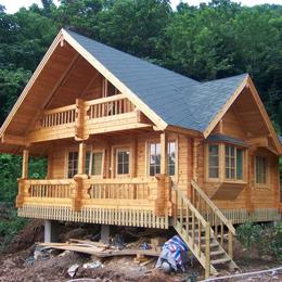 高端防腐木的木屋系列