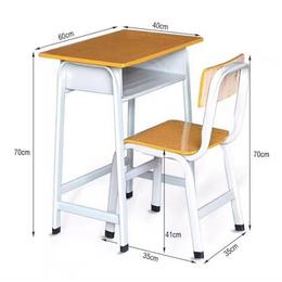 培训课桌椅 学生课桌椅 单人固定课桌椅缩略图