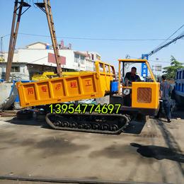 热销多功能履带运输车 橡胶三吨混凝土履带运输车 格林伟瑞机械