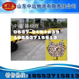 30吨厂区运输车30吨机器拖车平板拖车山东厂家