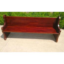 教会基督教用品长椅木制结构椅子椅聚会椅教堂椅木制椅一号椅