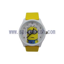 速卖通热销卡通动漫图案儿童学生石英手表