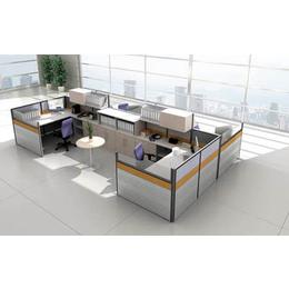 主管用双人办公屏风卡位事业单位办公桌椅