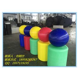 供应厂家定制山东标识浮球 青岛浮标塑料浮球 烟台空心浮球