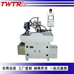 东莞台荣厂家专业生产高精密液压全自动一字平头螺丝铣扁机铣槽机
