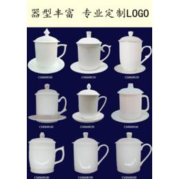 手绘八骏图陶瓷茶杯 马到成功新年礼品茶杯单位办公茶杯定制