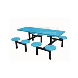 学校员工食堂8人餐桌椅职工餐桌