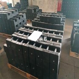 玉林20千克标准锁型配重砝码10千克铸铁砝码