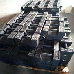 宜宾25千克标准锁型配重块 10千克铸铁砝码