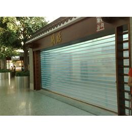 江西商铺门防盗门店铺水晶门透明门 专业厂家生产