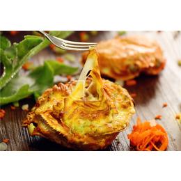 芝士蟹堡 140g一只芝士鲜虾蟹肉堡肉 台湾小吃厂家直销