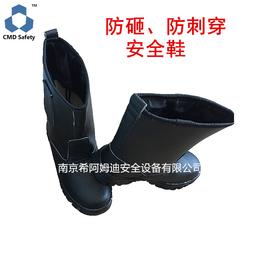 钢包头劳保鞋 高帮安全鞋 高筒安全靴 防砸防刺穿劳保鞋
