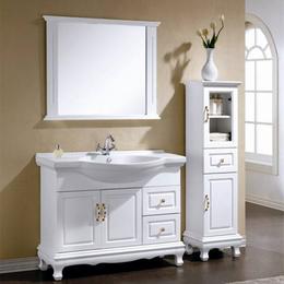 浴室柜組合落地式衛生間洗漱臺鏡衛浴柜定制縮略圖