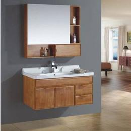 實木浴柜洗臉池縮略圖