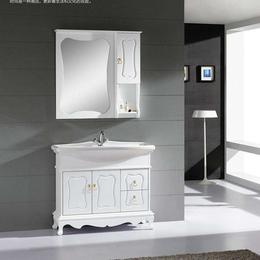 浴室柜組合現代簡約落地式衛生間洗漱臺鏡衛浴柜定制縮略圖