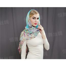 真丝丝巾的演变史 丝巾定制厂家与你一起探索