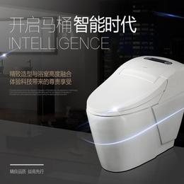 智能马桶一体式 家用全自动感应冲洗遥控坐便器