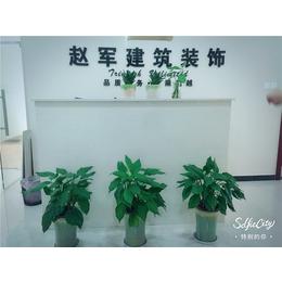 建筑装饰公司花卉展示