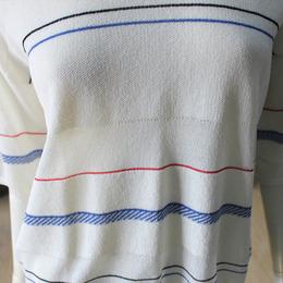 大朗针织衫现款贴牌加工-仿亚麻夏款中袖女针织套头衫