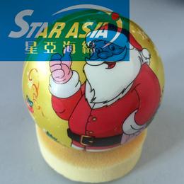 出口欧美PU发泡球 PU压力足球印刷喷漆海绵球 量大从优