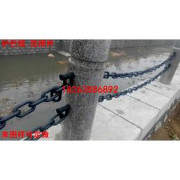 供应鲁兴全新定做护栏链条连接件  链条连接环厂家